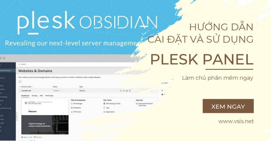 Hướng dẫn cài đặt Plesk