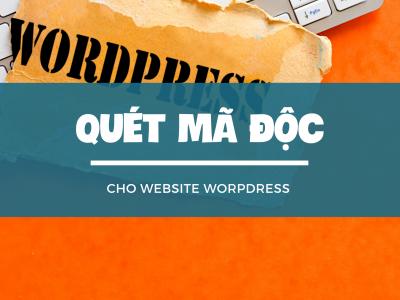 Cách quét mã độc WordPress